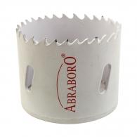 Боркорона биметална ABRABORO 64мм, за дърво и цветни метали, HSS-Co 8%, Bi-Metal