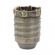 Боркорона с твърдосплавни пластини HELLER 50х75/55мм, за бетон и зидария, олекотена, с вътрешна резба M16, сухо пробиване