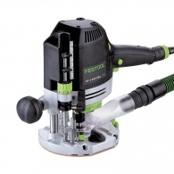 Оберфреза FESTOOL OF 1400 EBQ-PLUS + Box-OF-S 8/10x HW, 1400W, 10000-22500об/мин, ф8мм