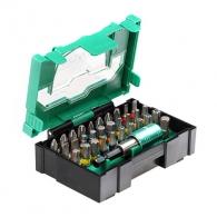 Комплект накрайници HITACHI 32части, PH, PZ, SB, TX, шестостен с магнитен държач