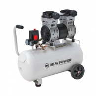Компресор ELEKTRO MASCHINEN REM Power EL 200/8/40, 40l, 8bar, 196 l/min, 1.15kW, 1.54hp, 230V, безмаслен