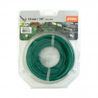 Корда STIHL 4.0мм/30м, кръгла, дължина 30м, тъмно зелена