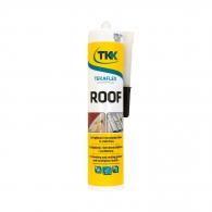 Лепило уплътнител TKK Tekafleks ROOF 300мл-кафяв, за покриви и улуци, RAL8019