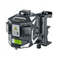 Линеен лазерен нивелир LASERLINER 3D X3-Laser Pro, 3 лазерни линии, точност 2.0mm/10m, автоматично
