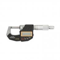 Микрометър за външно мерене KINEX 0-25мм, дигитален, точност 0.001мм