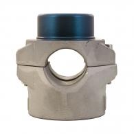 Накрайник за поялник за заваряване DYTRON ф32мм/син, за тръби PP,PB,PE,PVDF, 500W/650W, кръгла муфа, син тефлон