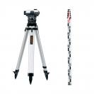 Оптичен нивелир LASERLINER AL 26 Plus set, увеличение 26x, стандартно отклонение 1.5 mm/km - small