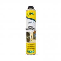 Полиуретанова пяна TKK Low Expansion, 750мл, пистолетна, лятна (над +5°C)