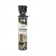 Пяна полиуретанова TKK Tekapur Top Foam All Season, ръчна, всесезонна (над -10°C), 600мл