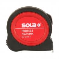 Ролетка SOLA PROTECT PE 5m x 25mm, гумирана, пласмасов корпус, EG-клас 2