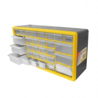 Шкаф за инструменти ERBA 30части, 500х160х25мм