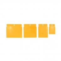 Шпакла HARDY 4части, пластмасови, размери: 50, 80, 100, 120мм