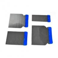 Шпакла TOPSTRONG 4части, с пластмасова дръжка, неръждаема стомана, размери: 50, 80, 100, 120мм