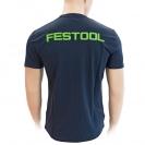 Тениска с къс ръкав FESTOOL T-Shirt M, синя - small, 124459