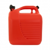 Туба за бензин TAYG 10л, пластмасова, червена