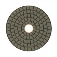 Диск за полиране EHWA 100х1.5мм P400, за сухо полиране на гранит, мрамор и подова мозайка, червен