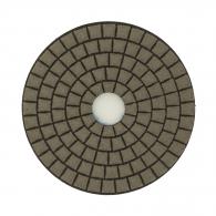 Диск за полиране EHWA 100х1.5мм P50, за сухо полиране на гранит, мрамор и подова мозайка, син