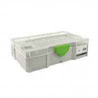 Куфар за инструменти FESTOOL SYS-MINI 1 TL TRA, пластмаса, бял