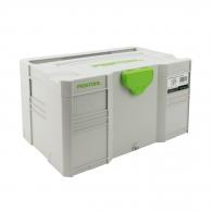 Куфар за инструменти FESTOOL SYS-MINI 3 TL, пластмаса, бял