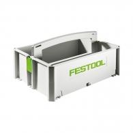 Куфар за инструменти FESTOOL SYS-TB-1, пластмаса, бял