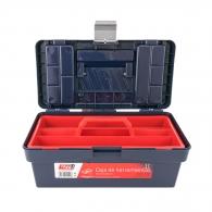 Куфар за инструменти TAYG 11, с една тава, полипропилен, син