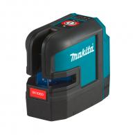 Линеен лазерен нивелир MAKITA SK106DZ, 12V, 2.0-4.0Ah, 3 лазерни линии, точност 3mm/10m, автоматично
