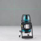 Линеен лазерен нивелир MAKITA SK312GDZ, 12V, 2.0-4.0Ah, 3 лазерни линии, точност 3mm/10m, автоматично - small, 155426