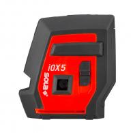 Линеен лазерен нивелир SOLA Iox5 Basic 20m, 4 лазерни линии, точност 2mm/10m