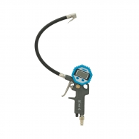 Пистолет за помпане на гуми с дигитален манометър FERVI, с манометър ф80мм, 0-8bar