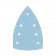 Шкурка велкро FESTOOL Granat DELTA 7 100х150мм P240, за лак и боя, с 6+1 отвора, синя, триъгълна, самозалепваща