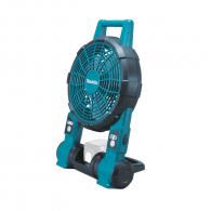Вентилатор акумулаторен MAKITA DCF201Z, 230V, 14.4-18V, 1.5-6.0Ah, Li-Ion, 120м/мин