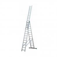 Алуминиевa стълба ELKOP VHR P 3х14, 5945/7245/9674мм(на стълбата), трираменна, професионална, 150кг.