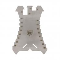 Чертилка шлосерска EDMA 5-100мм, неръждаема стомана