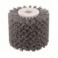 Четка найлонова VIRUTEX ф110х100х19мм, за състаряване на дърво и полиране на мрамор и метали, ST62