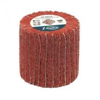 Четка ламелна VIRUTEX ф110х100х19мм, за заглаждане на дърво и премахване на боя, сатиниране на мет