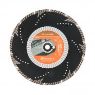 Диск диамантен HUSQVARNA TACTI-CUT S65 350x3.3x25.4/20мм, за армиран бетон и строителни материали, сухо и мокро рязане