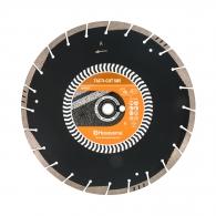 Диск диамантен HUSQVARNA TACTI-CUT S85 350x3.3x25.4/20мм, за асфалт, сухо и мокро рязане