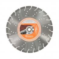 Диск диамантен HUSQVARNA VARI-CUT S35 TURBO 350x3.4x25.4/20мм, за гранит, мрамор, камък, сухо и мокро рязане