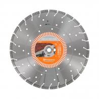 Диск диамантен HUSQVARNA VARI-CUT S35 TURBO 400x3.5x25.4/20мм, за гранит, мрамор, камък, сухо и мокро рязане