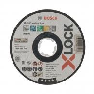 Диск карбофлексов BOSCH X-LOCK 125х1.0х22.23мм, за рязане на метал, неръждаема стомана
