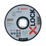 Диск карбофлексов BOSCH X-LOCK 125х1.6х22.23мм, за рязане на неръждаема стомана