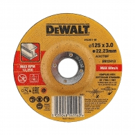 Диск карбофлексов DEWALT DT42301 125x3.0x22.23мм, за рязане на метал