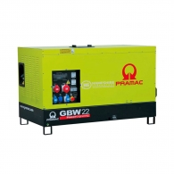 Генератор PRAMAC GBW22P С, 17kW, 400V, АTS, дизел, трифазен