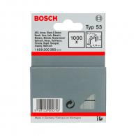 Кламери BOSCH 53/8мм 1000бр., тип 53, тънка тел, блистер