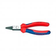 Клещи жустерни KNIPEX 140мм, прави, CS, кръгли челюсти, двукомпонентна дръжка