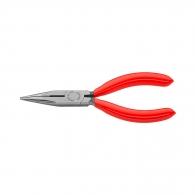Клещи жустерни KNIPEX 140мм, прави, CrV, полукръгли плоски челюсти, еднокомпонентна дръжка
