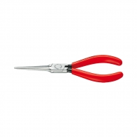 Клещи жустерни KNIPEX 160мм, прави, CrV, полукръгли плоски челюсти, еднокомпонентна дръжка