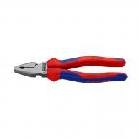 Клещи комбинирани KNIPEX 200мм, ф2.2/2.8мм, ф13мм/25мм2, CS, двукомпонентна дръжка