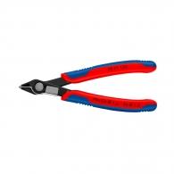 Клещи резачки KNIPEX ф0.2-1.6/125мм, CS, двукомпонентна дръжка