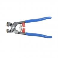 Клещи за гранитогрес MONTOLIT 200мм, 0-15мм, за рязане и отчупване, ергономични пластични дръжки